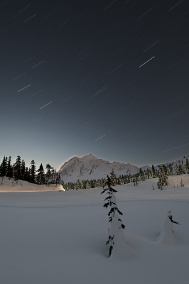 Shuksan Star Trails