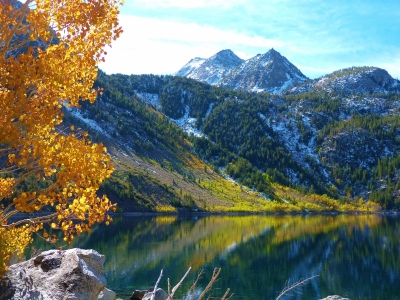 Autumn On Lake Sabrina