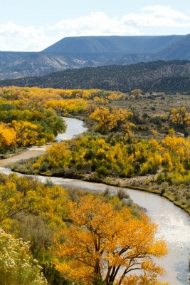 View Of The Abiquiu Valley And River 1
