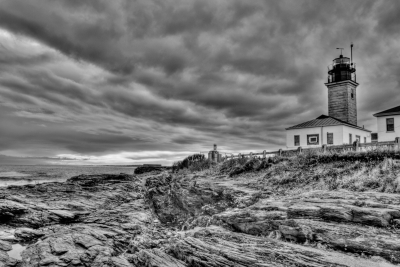 Beaver Tail Lighthouse