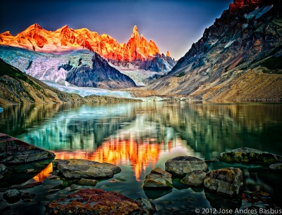 Cerro Torre At Sunrise