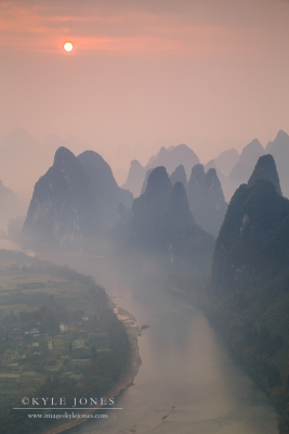 Yangshuo Watercolor