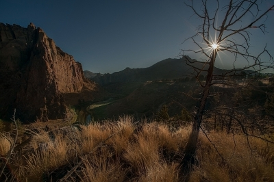 Sunrise At Smith Rock