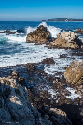 Crashing Waves At Cannery Point