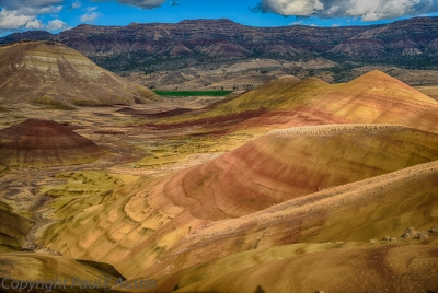 Painted Hills Shadows