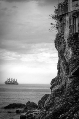 Royal Clipper, Amalfi Coast