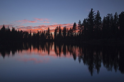 Reflection Lake, Lassen National Park