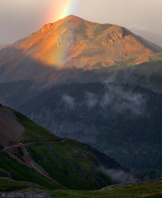 Red Mountain Rainbow