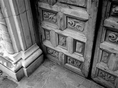 Mission San Jose Doors
