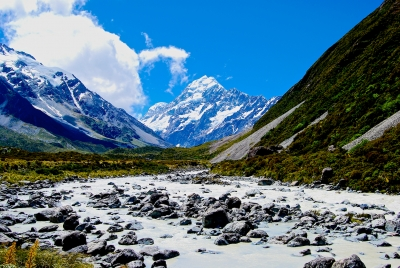Mt. Cook And The Hooker River