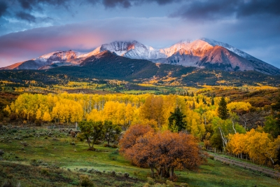 Mt. Sopris Sunrise