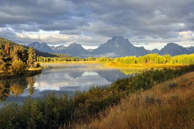 Early Light At Oxbow Bend