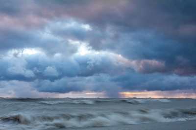Storm Over Lake Huron