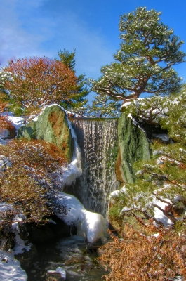 Waterfall, Seiwa-en