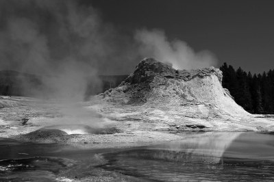 Castle Geyser Mists