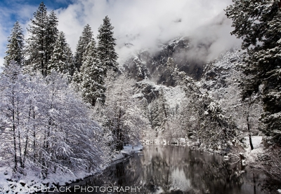 Clearing Winter Storm, Merced River