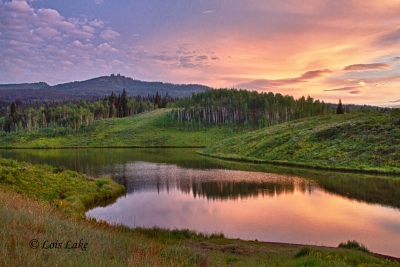 Sunrise At Muddy Pass Lake