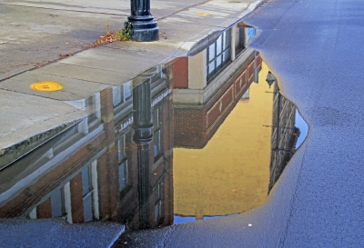 Reflections Outside Of 213
