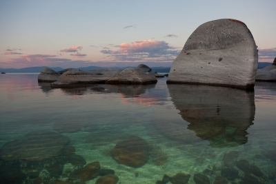 Tahoe Boulders At Sunrise 5