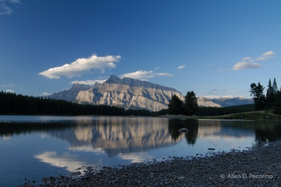 Mount Rundle At Dawn