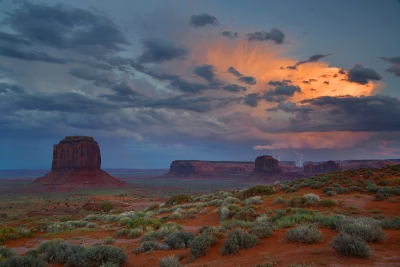 Monument Valley Monsoon