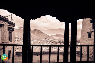 A Veiw From Leh Palace