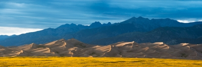 Great Dunes At Sunset