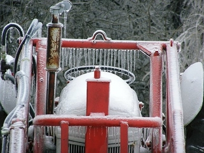 Ice Cold Tractor