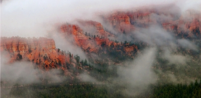 Clouds In The Canyon