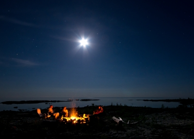 Lake Huron Bonfire