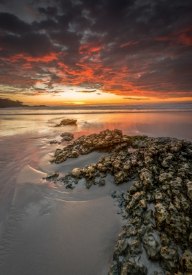 Sunset At Carmel Beach – Carmel, Ca
