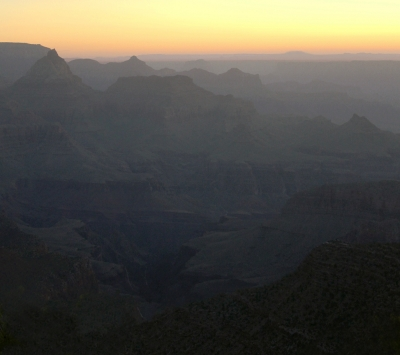 Sunrise At The Grand Canyon 1