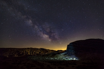 Night Hike Under The Milky Way