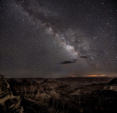 Milky Way, Bright Angel Point