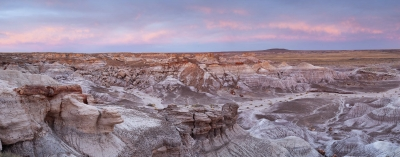 Glow After Sunset In Petrified Forest National Park