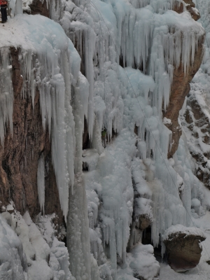 Ice Climber Half Way There And Going Strong