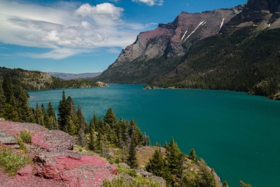 St. Mary Lake: Glacier National Park