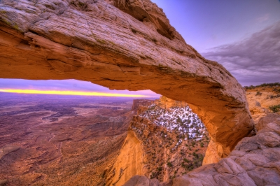 Mesa Arch From A Diferrent Angle