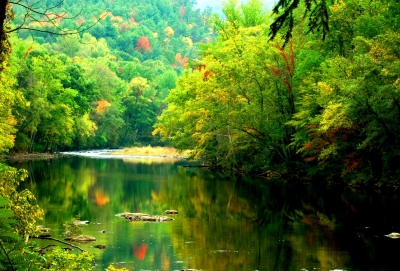 Pigeon River Fall Reflections 2