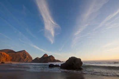 Pfeifer Beach Sunset
