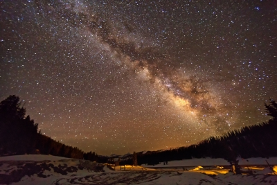 Wolf Creek Milky Way