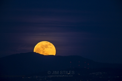 Moonrise Over Tiger Mountain