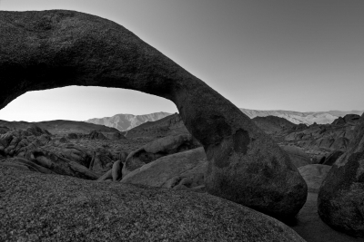 The Other Side Of Mobius (black And White)