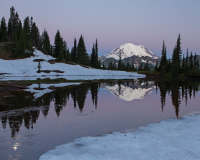 Mt. Rainer Earth Shadow