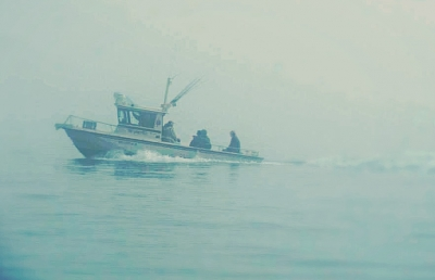 Fisherman On Their Way In From Seldovia, Ak