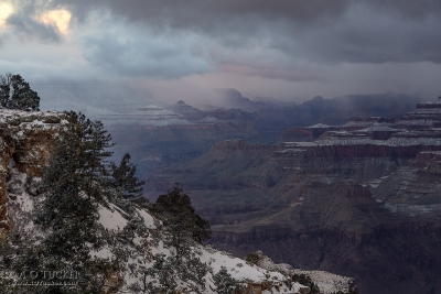 Christmas Morning At The Canyon