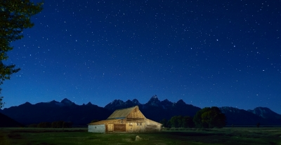 Teton Moulton Night