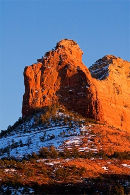 Winter In The Red Rocks Of Sedona