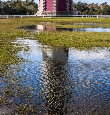 Reflection Of Cape Hatteras Lighthouse