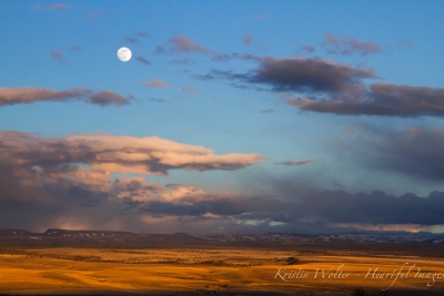 Steens Mountain Moonrise